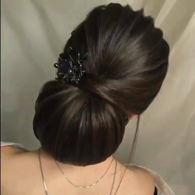 Inspiração De Coque Baixo Para Noivas, Veja Que Maravilhoso Que Fica!!!