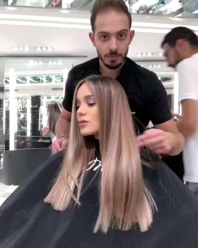 Inspiração De Mudança De Cor De Cabelo, Veja Este Tom De Loiro!!!