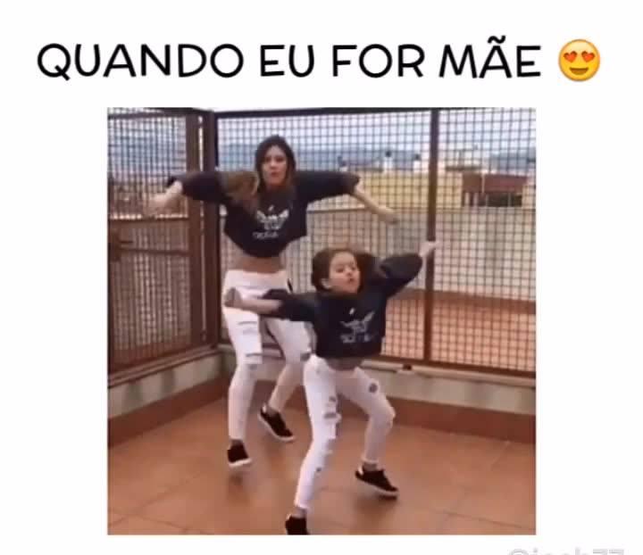 Mãe E Filha Dançando, Elas Mandam Muito Bem, Confira Vale A Pena!!!