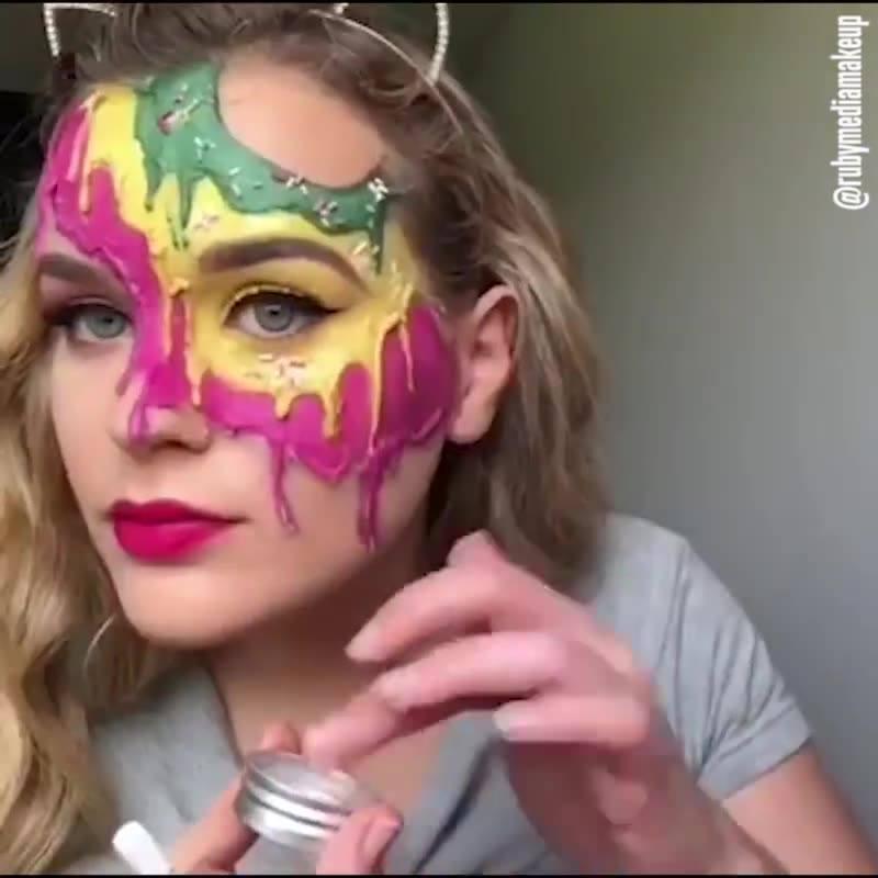 Maquiagens Artísticas Para Curtir Festas A Fantasia Ou Halloween!