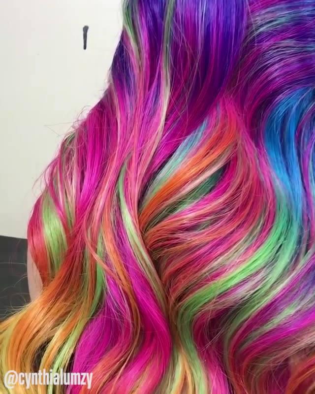 Colorindo Cabelos, São Cores Incríveis Para Te Encantar!