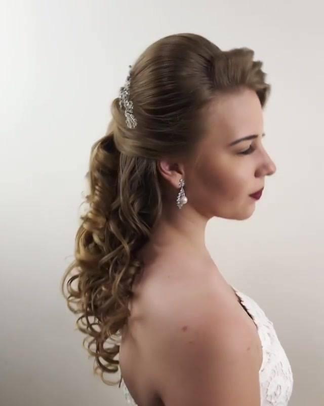 Penteado Para Noiva, Você Vai Amar Esse Lindo Trabalho, Confira!