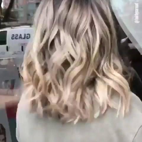 Vídeo Com Várias Transformações De Cores De Cabelos Um Mais Bonito Que O Outro!