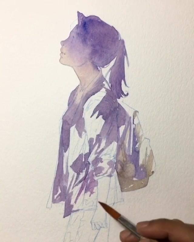 Vídeo Mostrando Pintura De Desenho Maravilhosa, Vale A Pena Conferir!!!