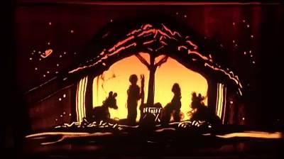 Natal Ilustrado Na Areia