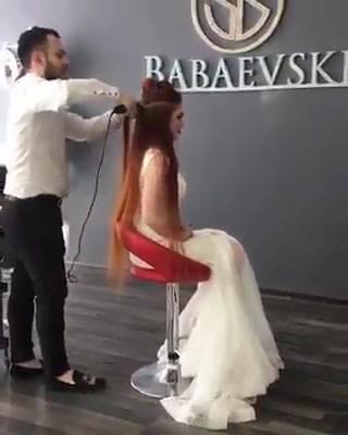 Noiva Com Cabelos Ruivos