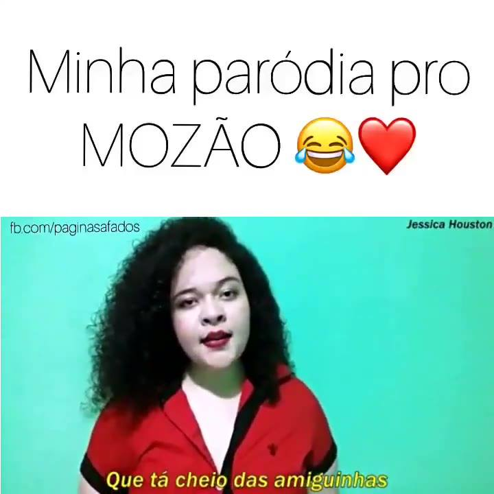 Parodia De Jessica Houston, Pra Você Manda Pro Mozão, Kkk!!!