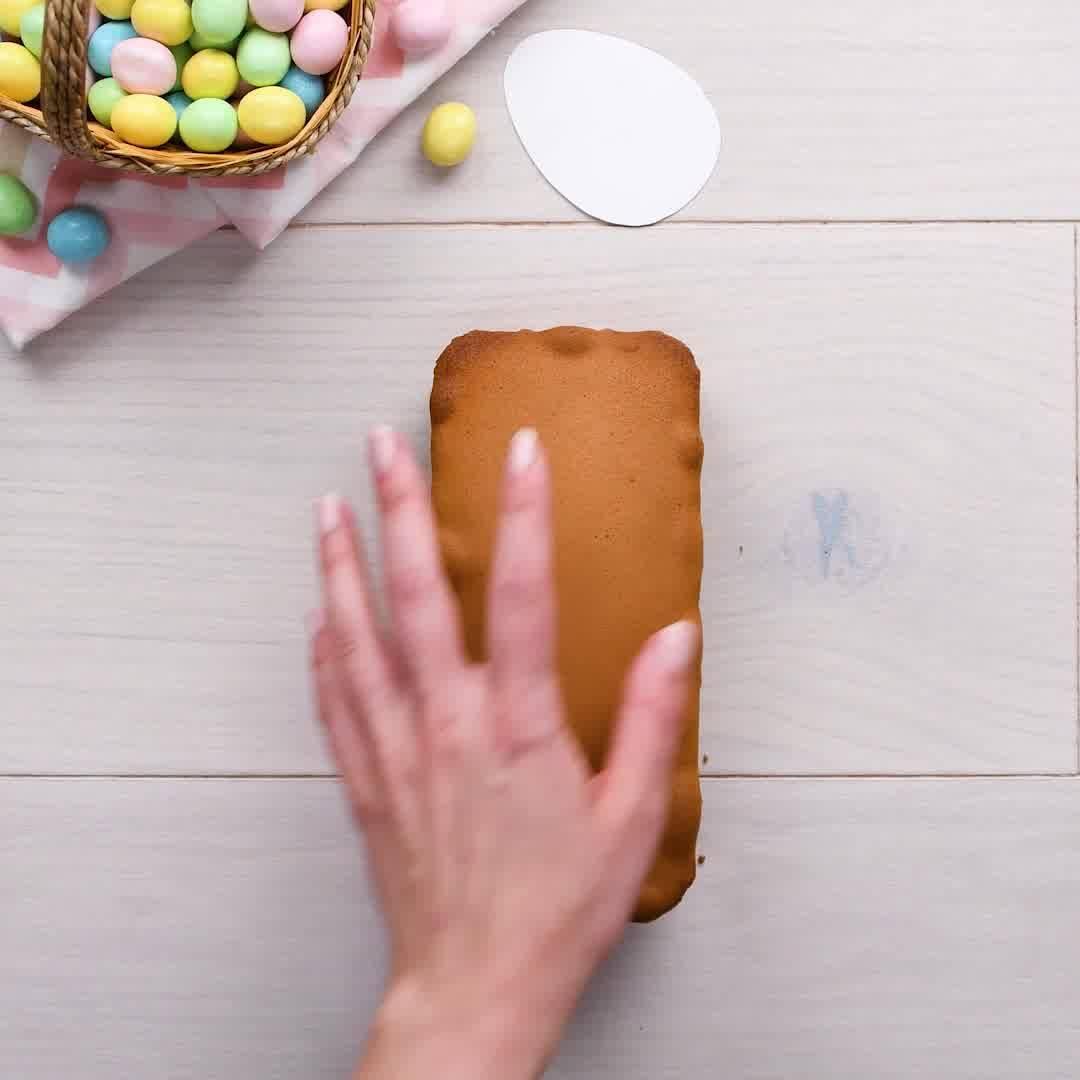 A Pascoa Esta Chegando, Olha Só Como Preparar Um Bolinho Em Formato De Ovo!!!
