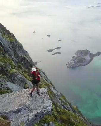 Pedido De Casamento No Alto De Uma Montanha Na Noruega, Incrível!!!