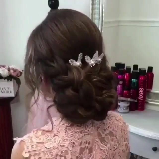 Penteado Para Noivas, Veja Que Lindo E Delicado Perfeito Para O Dia Especial!!!