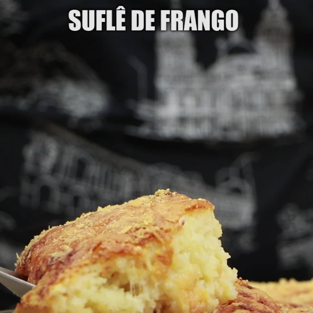 Receita De Suflê De Frango, Olha Só Que Maravilha De Receita!!!