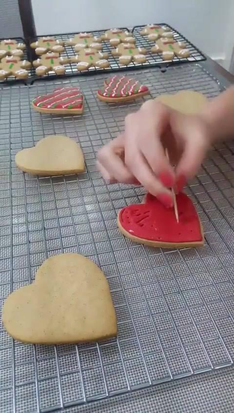 Aprendendo A Decorar Biscoitos, Mais Uma Ideia Perfeita!