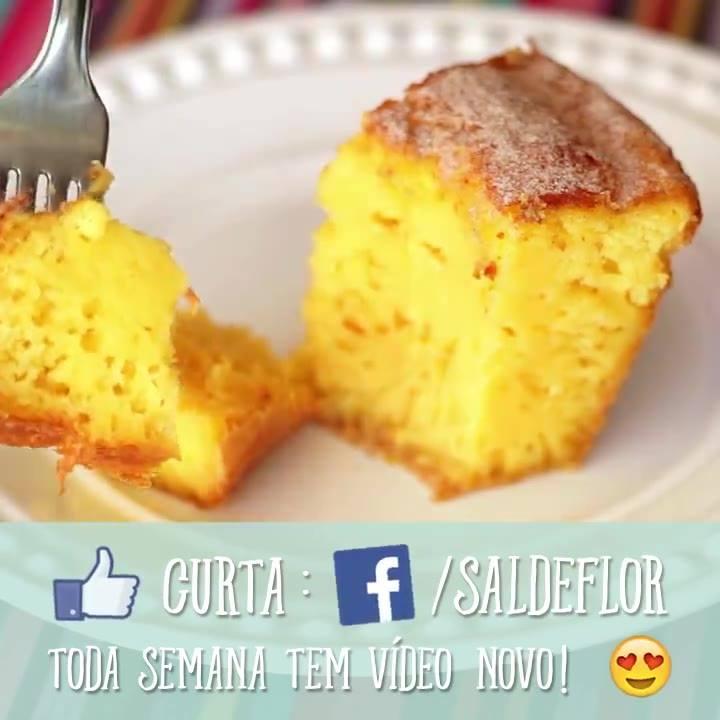 Receita De Bolo De Milho, Uma Receita Saborosa E Fácil De Fazer!!!