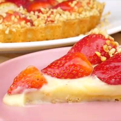 Receita De Torta De Morango, Olha Só Que Maravilha De Sobremesa!!!