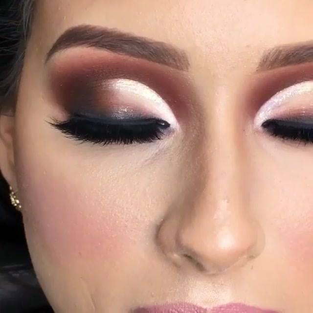 Transformação Com Maquiagem, Veja Que Técnica Maravilhosa De Sombra!!!
