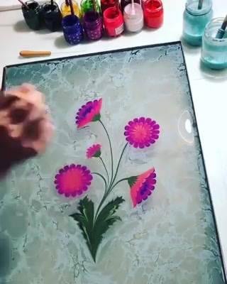 Arte Sobre A Água