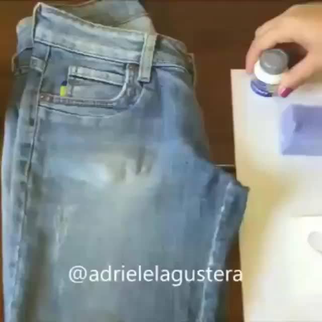 Como Deixar Aquela Calça Velha Diferente E Bonita De Forma Simples E Barata!
