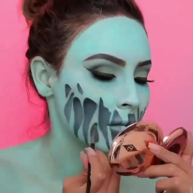 Maquiagem De Demônio Para Halloween, Olha Só Estes Traços Inscreveis!