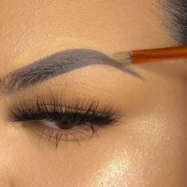 Inspiração De Correção De Sobrancelhas Perfeito Com Maquiagem, Bora Conferir!!!