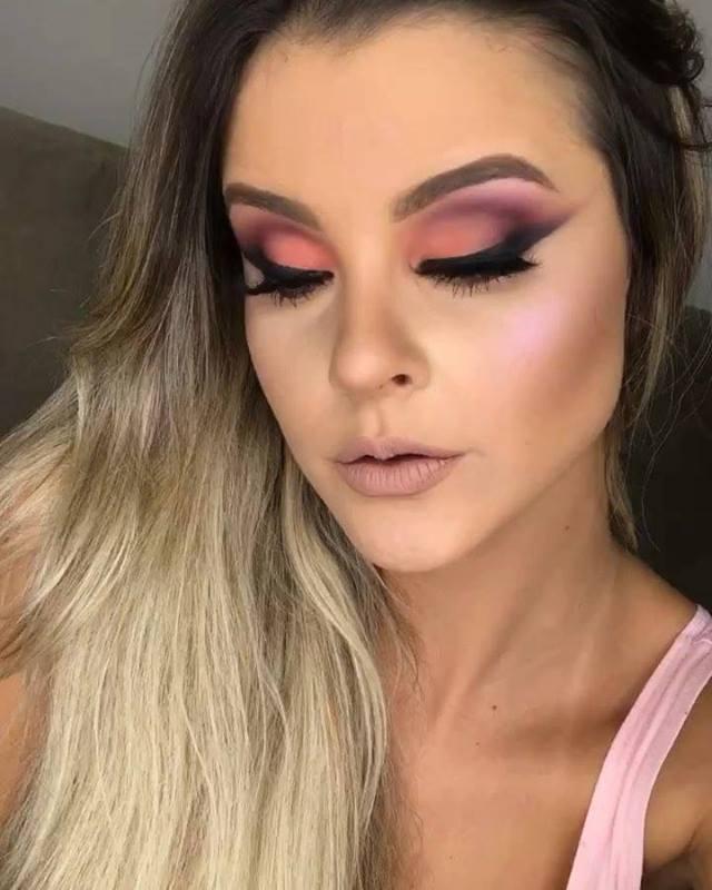 Inspiração De Maquiagem Com Cor Maravilhosa De Sombra, Da Só Uma Olhada!!!