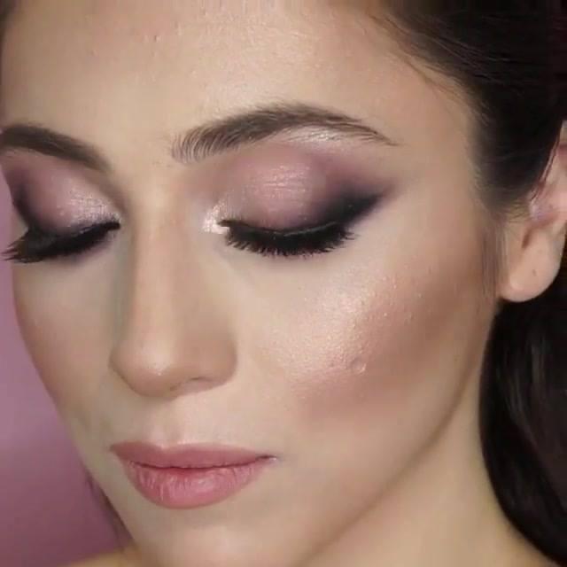 Inspiração De Maquiagem Para O Dia, Linda E Delicada, Vale A Pena Conferir!!!