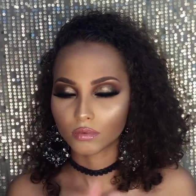 Maquiagem Iluminada Para Festa, Mais Uma Para Você Brilhar!