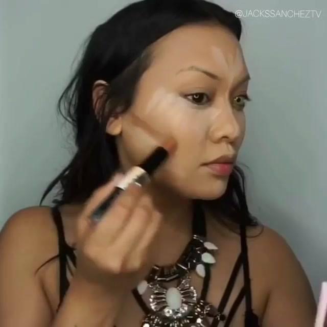 Tutorial De Maquiagem Para Halloween, Olha Só Que Make Linda!!!