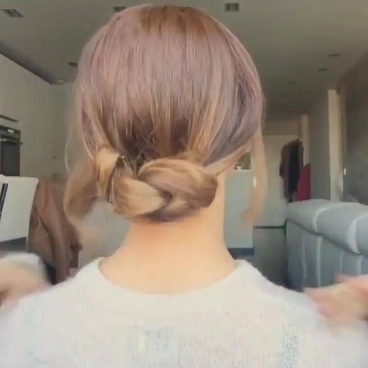 Vídeo Com Penteados Para Você Mesma Fazer, Olha Só Que Lindos!!!