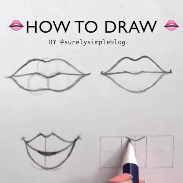 Vídeo Mostrando Técnicas De Desenhos, Como Desenhar De Diferentes Formas!!!