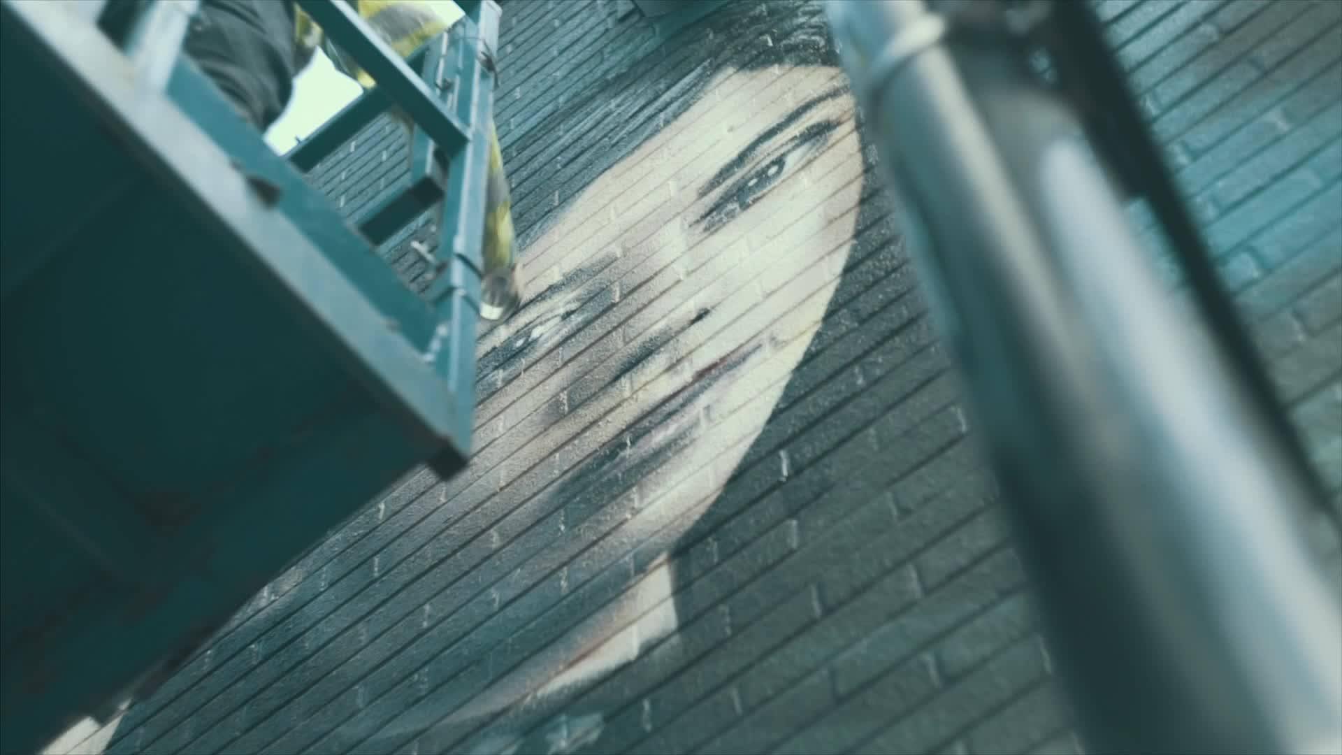Outdoor Em 3D, Uma Obra De Arte Para Fazer Propaganda De Um Filme!