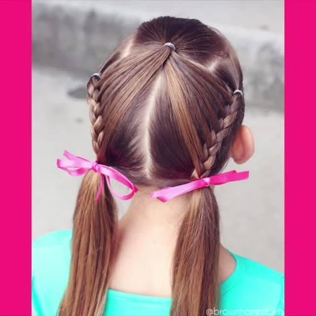 Penteado Para Meninas, Olha Só Que Lindinho E Super Delicado!!!