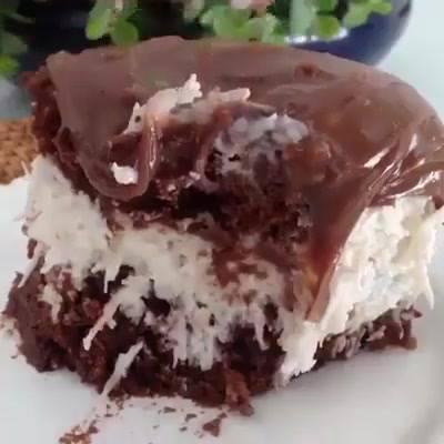 Bolo De Chocolate Com Coco