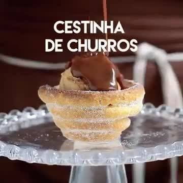 Cestinha De Churros