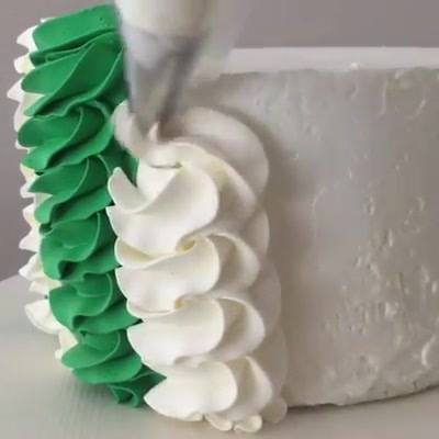 Confeito Verde E Branco