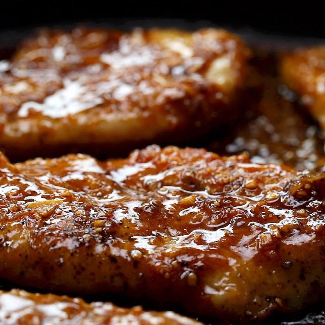 Filé De Frango Frito Com Mel, Perfeito Para Servir Com Purê De Batata!