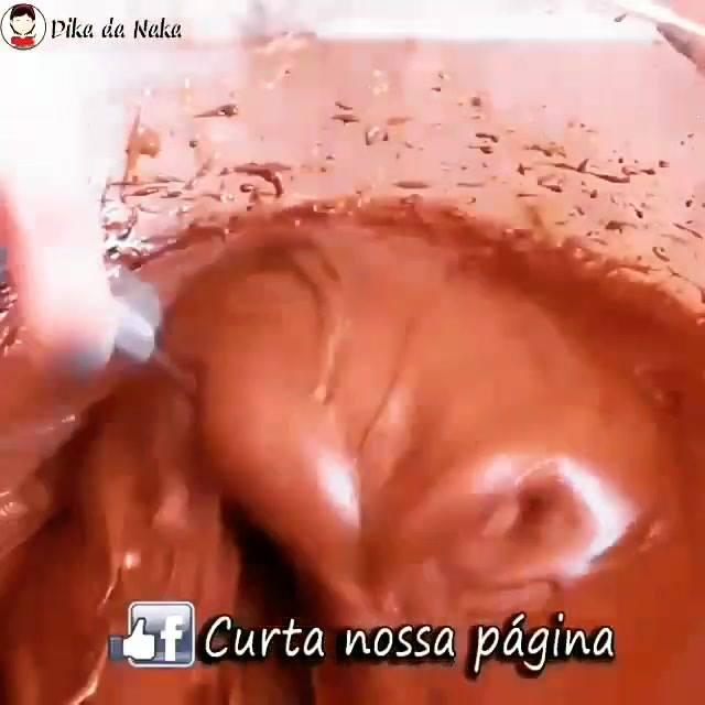 Receio De Chocolate Alpino Para Bolos, Uma Receita Que Você Vai Amar Aprender!