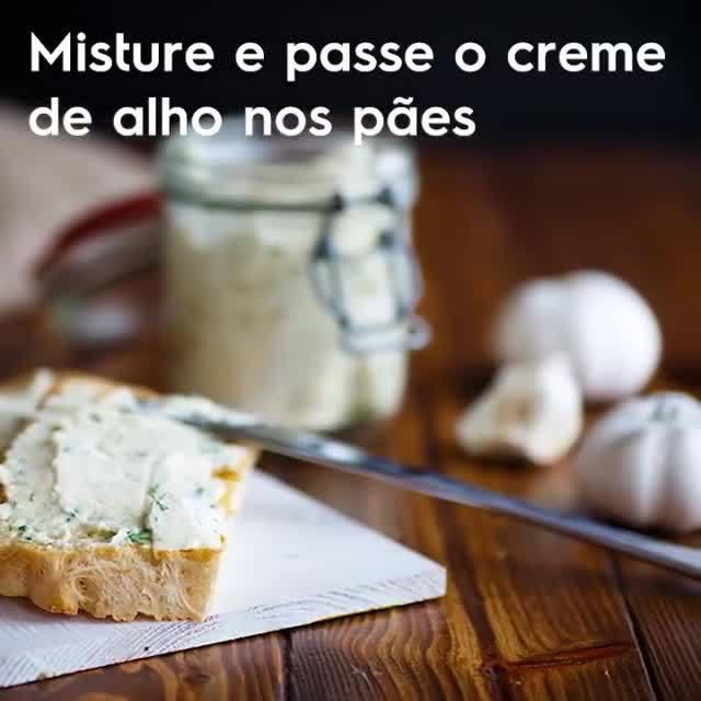 Receita De Creme De Alho, Uma Delicia Para Acompanhar Vários Pratos!!!