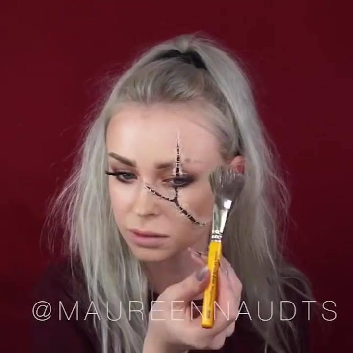 Tutorial De Maquiagem Para O Halloween, Impossível Não Arrasar Com Elas!!!