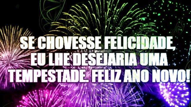 Vído De Mensagem De Feliz Ano Novo Para Todos Amigos Do Whatsapp!!!