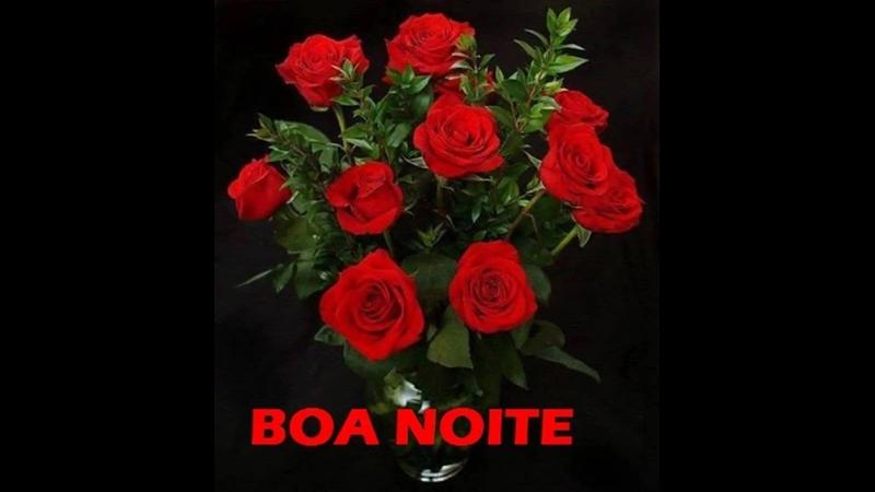 Uma Linda Noite Para Você: Mensagem De Boa Noite Com Lindas Imagens De Rosas. Tenha