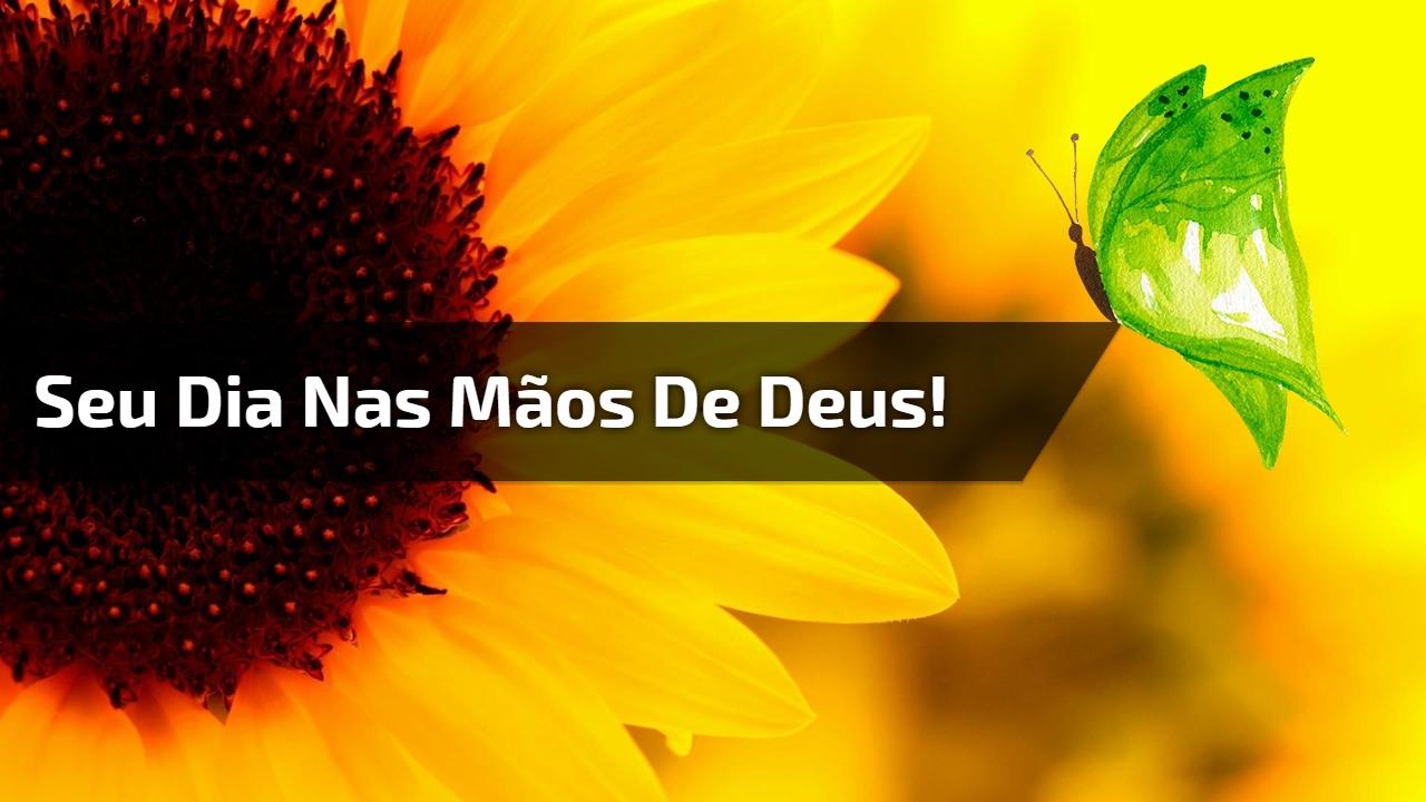 Mensagem De Bom Dia Para Amigos Que Todos Sejam Abençoados: Mensagem De Bom Dia, Entregue Seus Dias Nas Mãos De Deus