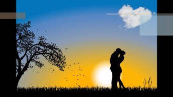 Mensagem de amor  Amar é acreditar no outro, te amo