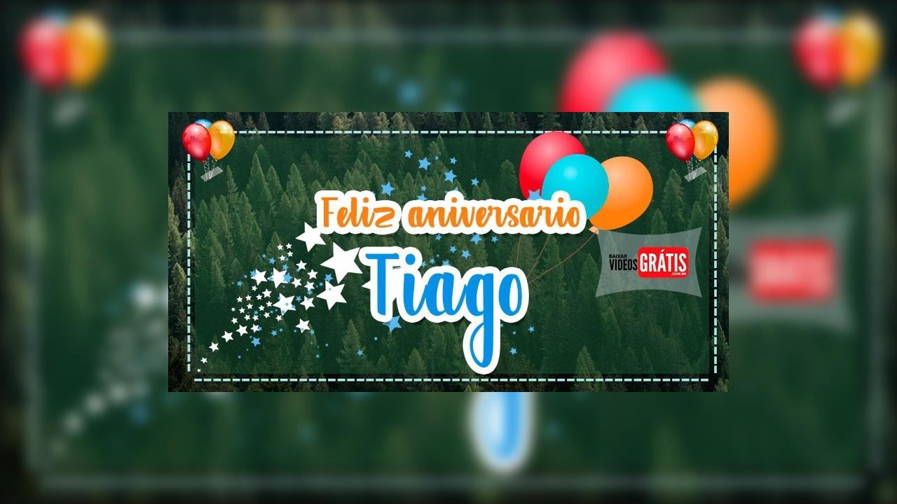 Feliz Aniversario Tia Graca: Mensagem Personalizada Com Nome Tiago Para Baixar