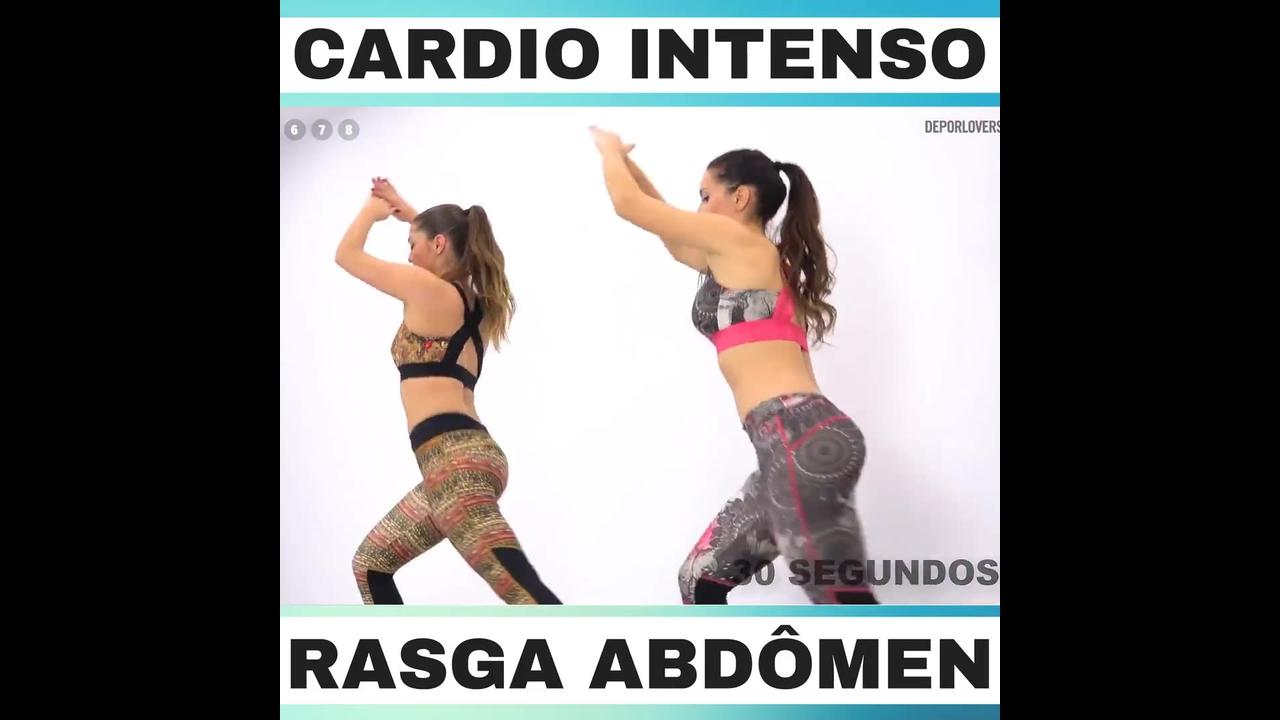 Serie de exercícios para abdômen