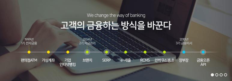고객의 금융하는 방식을 바꾼다-  웹케시
