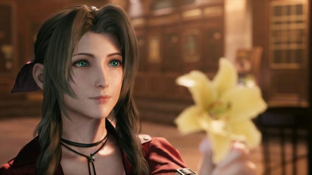 【FF7R】エアリスがむちゃくちゃ可愛く描かれてる件
