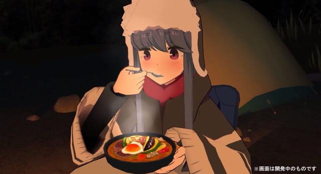 VRゲーム「ゆるキャン△ VIRTUAL CAMP」のリリースが決定!!!!!