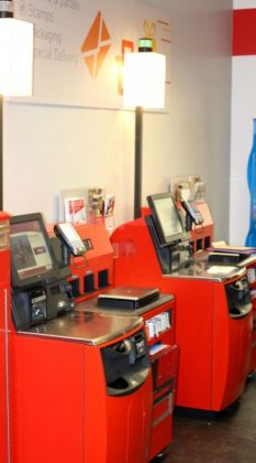 NCR Post Office Self Service Machines