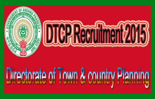 AP DTCP recruitment 2015