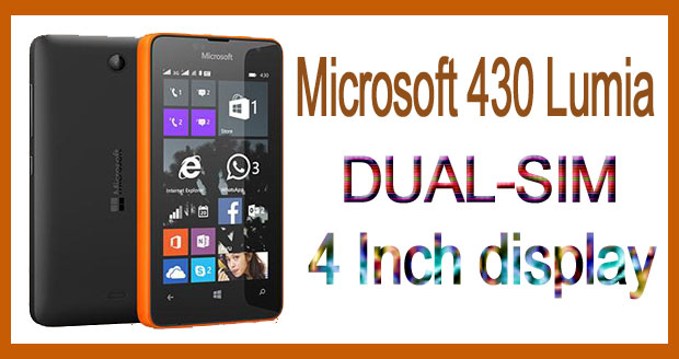 Microsoft 430 Lumia